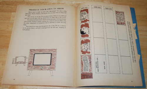 Bewitched vintage activity book 13