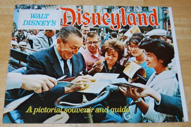 vintage disneyland souvenir book