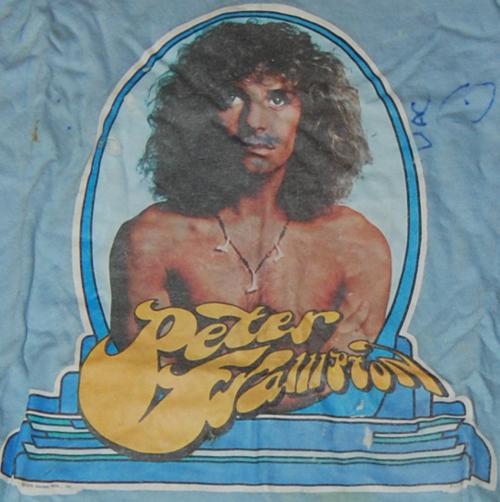 Vintage peter frampton t shirt
