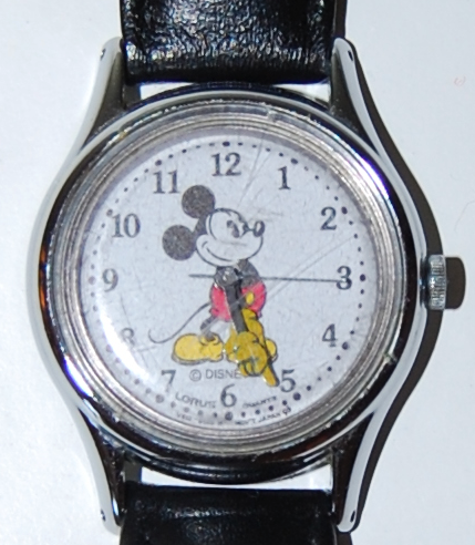 Mickey mouse watch x