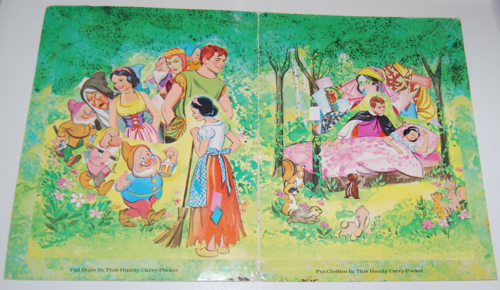 Disney snow white paper dolls 1