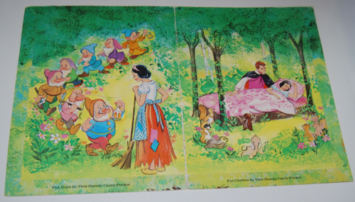 Disney snow white paper dolls 15