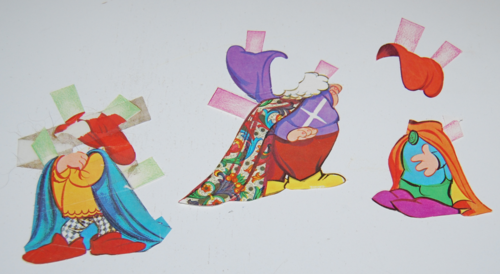 Disney snow white paper dolls 14