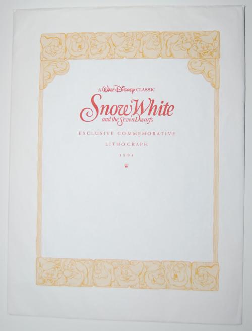 Snow white litho 2