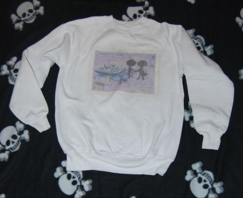 Radiohead shirt x
