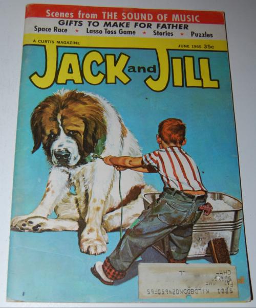 Jack & jill magazine june 1965