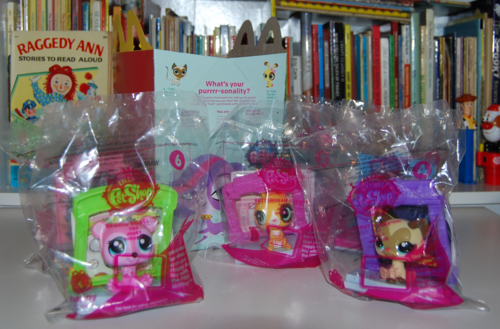 Littlest pet shop happy meal x