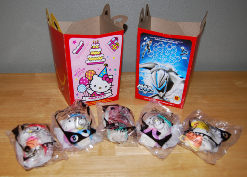 Hello kitty max steel happy meal