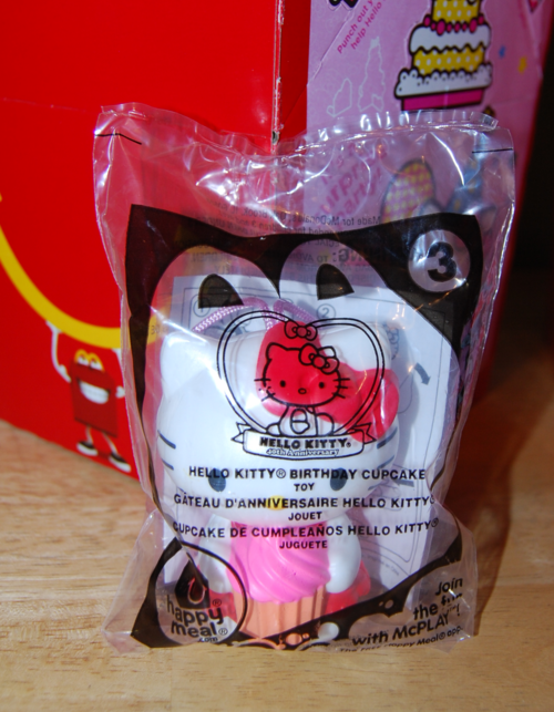 Hello kitty happy meal