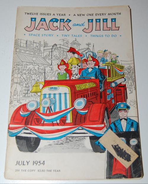 Jack & jill july 1954