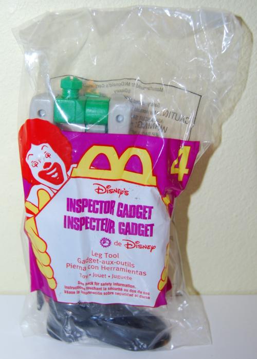 Mcd inspector gadget toy 3