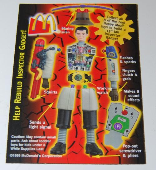 Mcd inspector gadget toy 9