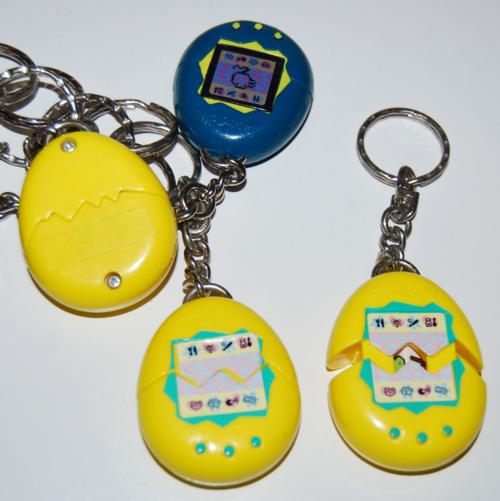 Tamagotchi keychain prizes 10