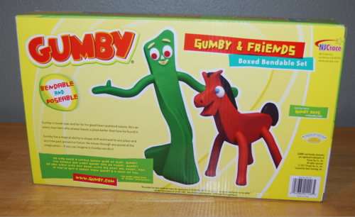 Many moods of gumby toys 1