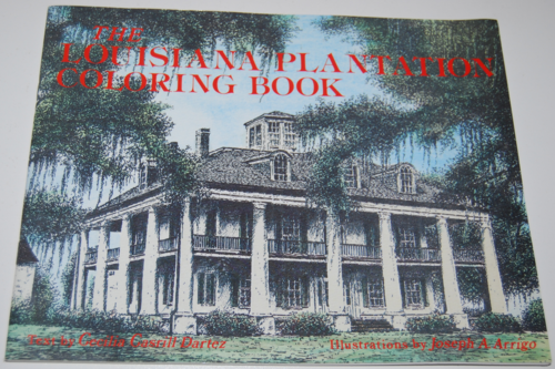 Louisiana plantation coloring book