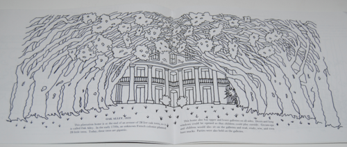 Louisiana plantation coloring book 7