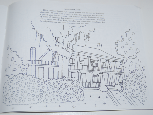 Louisiana plantation coloring book 8