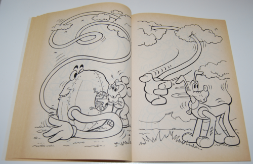 Mickey mouse golden coloring book 6