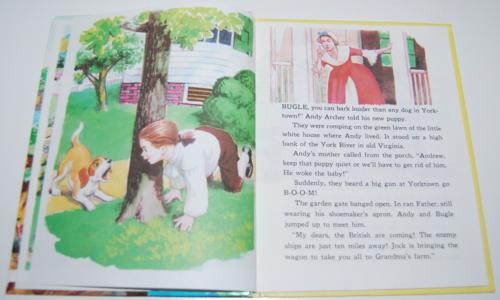 Bugle a puppy in old yorktown book 2