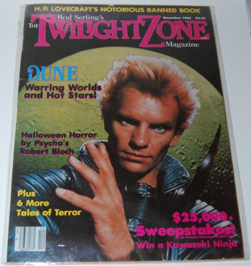 Twilight zone magazine 1982 6