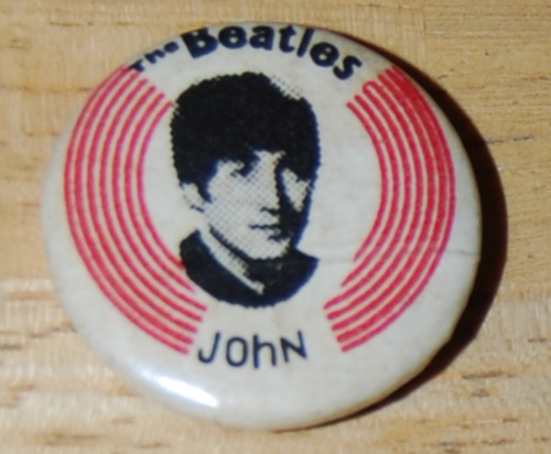Beatles buttons 1