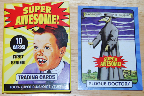 Super awesome cards plague doctors