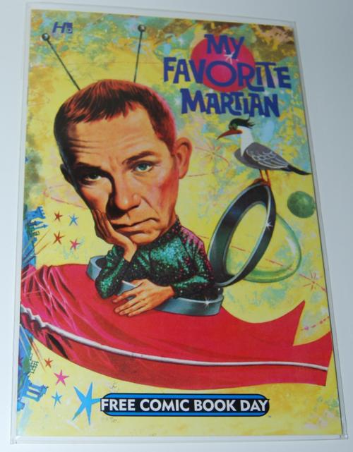 My favorite martian comic