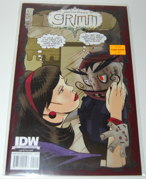 American mcgee grimm comic 2
