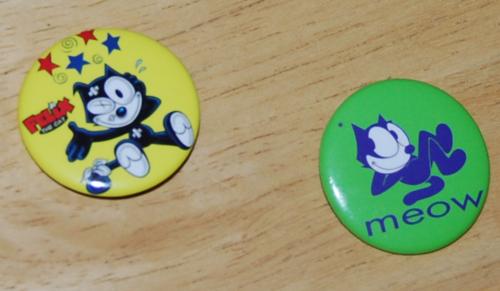 Buttons & pins 13