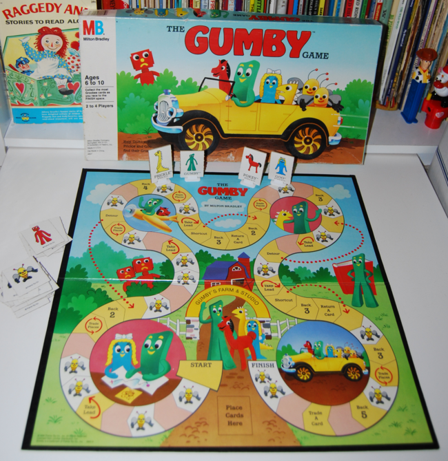 the gumby game ~ milton bradley