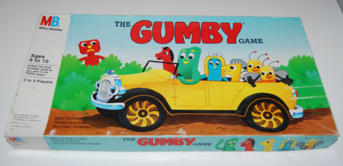 The gumby game milton bradley