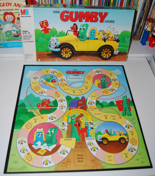 The gumby game milton bradley 1