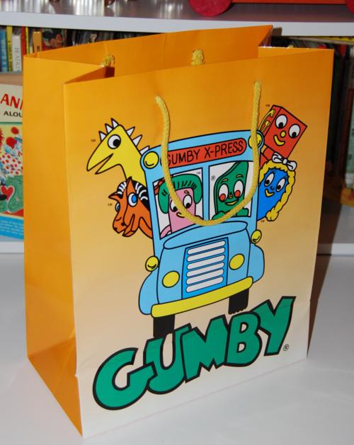 Gumby gift bag 1x