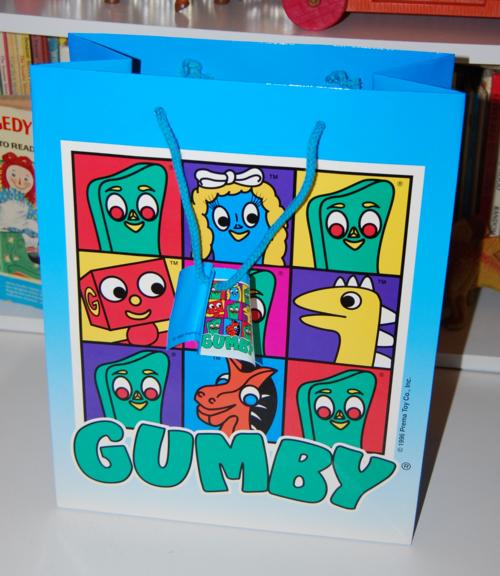 Gumby gift bag 3