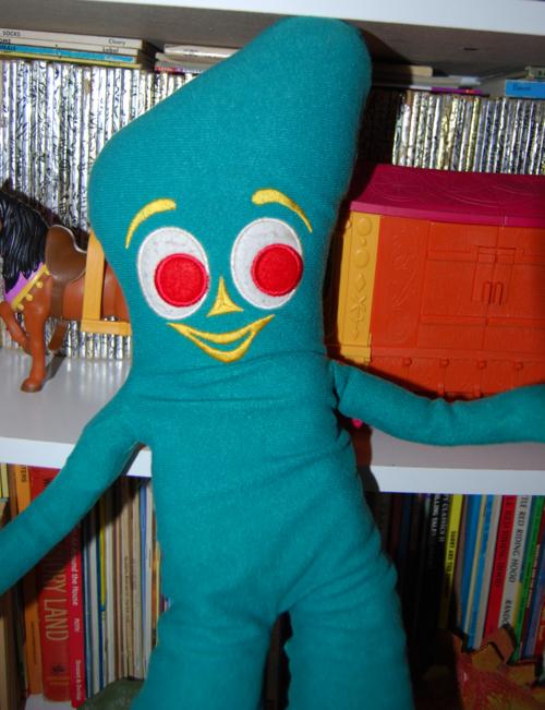 Gumby plush vintage 1