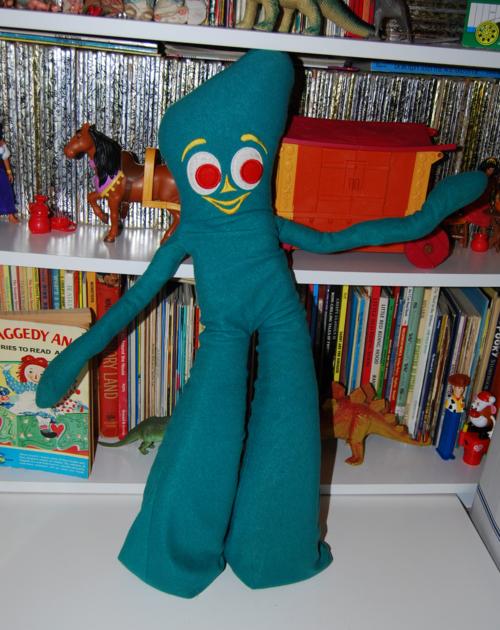 Gumby plush vintage