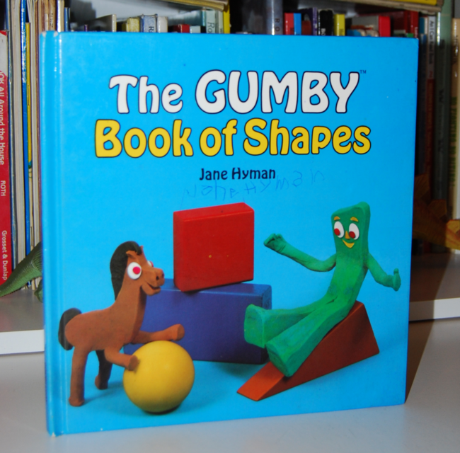 book month ~ gumby book of shapes