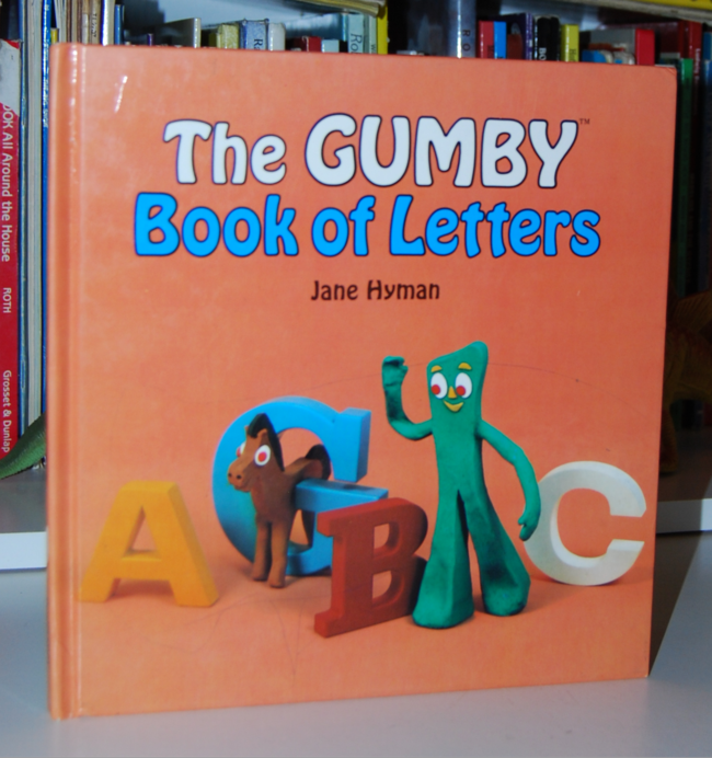book month ~ gumby book of letters