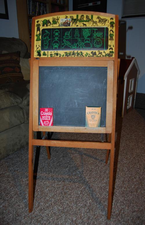 Vintage school desk 9