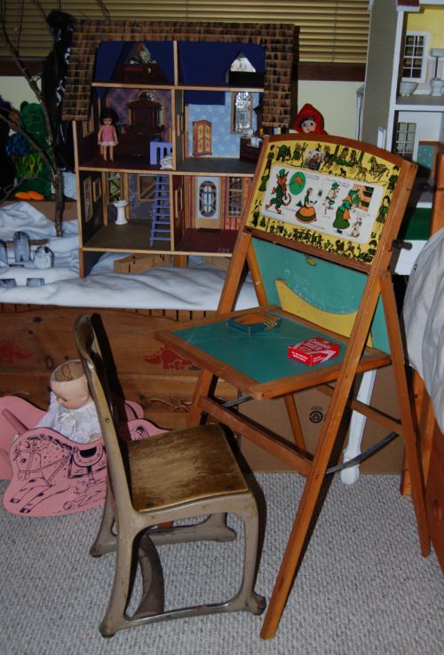 Vintage school desk x