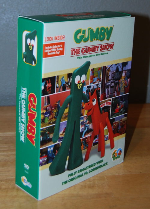 Gumby remastered dvds x