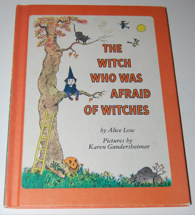 book month ~ the witch who was afraid of witches