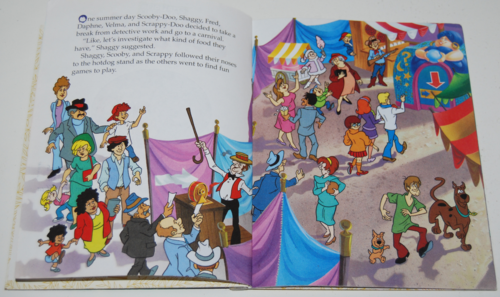 Scooby doo the haunted carnival book 2