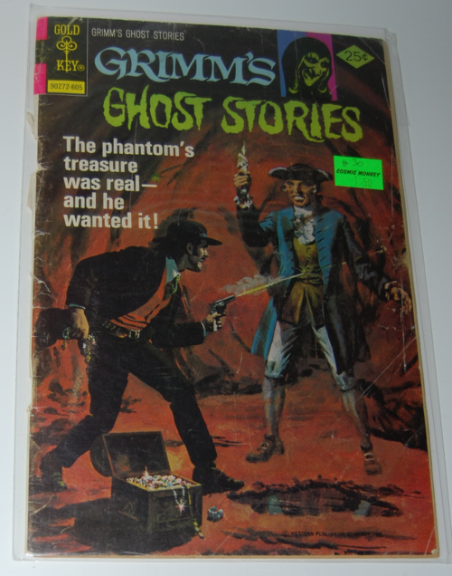 Grimm's ghost stories comic 1