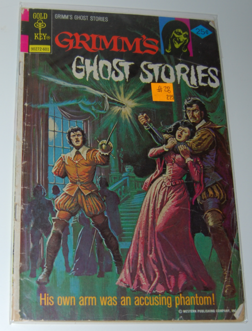 Grimm's ghost stories comic