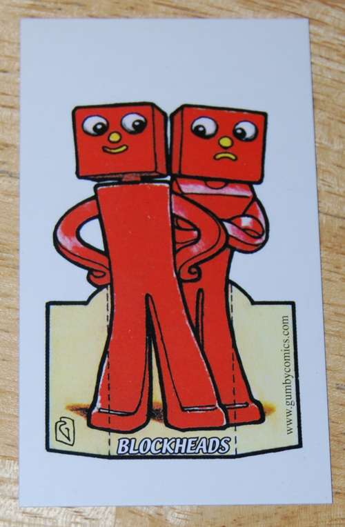 Comiccon card blockheads