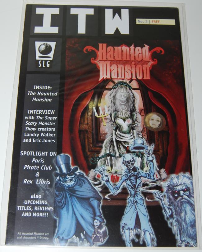 comic books ~ haunted mansion