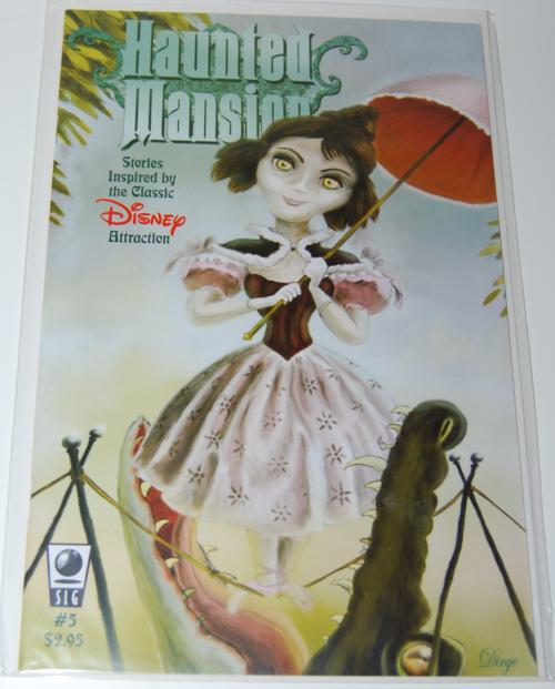 Haunted mansion comic 5