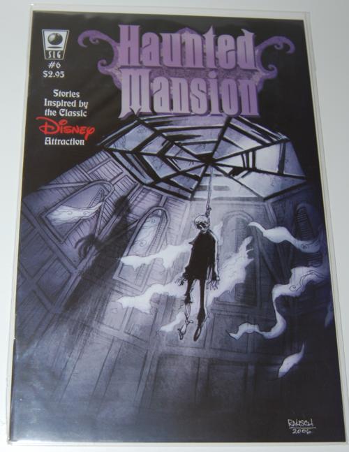 Haunted mansion comic 6