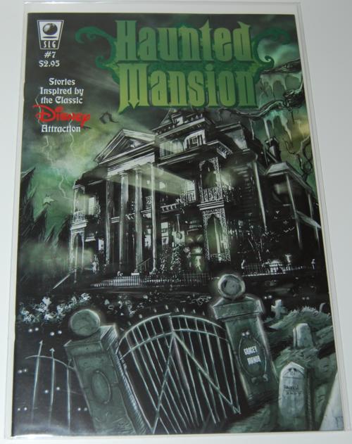 Haunted mansion comic 7